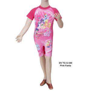 Baju Renang Anak SD Deedo DV TG G 031 Pink Fanta Terbaru