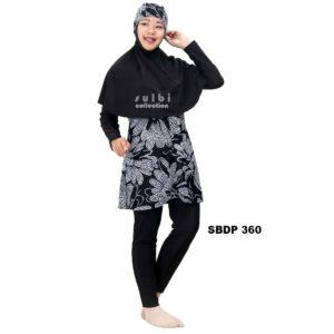 Baju Renang Muslimah Sulbi SBDP 360 Terbaru