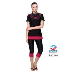 Baju Renang Wanita Edora Semi Cover ESC 008 Terbaru