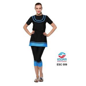 Supplyer Baju Renang Wanita Edora Semi Cover ESC 009