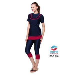 Baju Renang Wanita Edora Semi Cover ESC 010 Terbaru