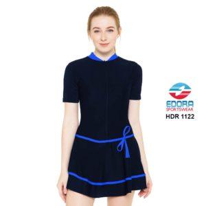 Baju Renang Wanita Edora Semi Cover HDR 1122