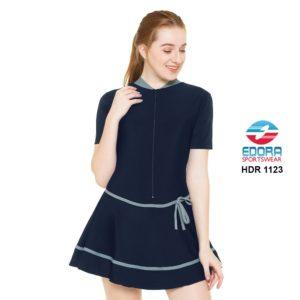 Agen Baju Renang Wanita Edora Semi Cover HDR 1123