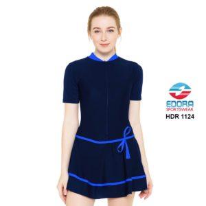 Jual Baju Renang Wanita Edora Semi Cover HDR 1124