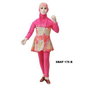 Baju Renang Anak Perempuan Sulbi SBAP 176 B Terbaru