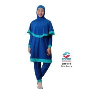 Baju RenangMuslimah EdoraEMP002 Biru Tosca