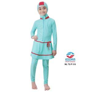 Jual Baju RenangAnak SD Perempuan Edora Muslimah ML TG P 016 Berkualitas