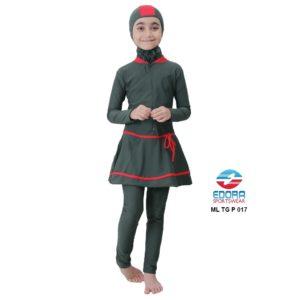 Jual Baju RenangAnak SD Perempuan Edora Muslimah ML TG P 017 Murah