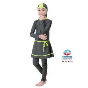 Grosir Baju RenangAnak SD Perempuan Edora Muslimah ML TG P 022 Berkualitas