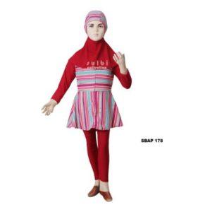 Distributor Baju Renang Anak Perempuan Sulbi SBAP 178 Murah