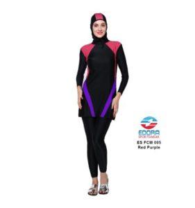 Baju RenangMuslimah EdoraES FCM 005 Red Purple