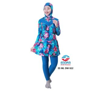 Distributor Baju RenangMuslimah Edora ES ML DW 022 Murah