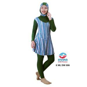 Suplyer Baju Renang WanitaEdora MuslimahK ML DW 006 Modern