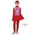 Jual Baju RenangAnak SD Perempuan Edora Muslimah ML TGG 033 Red Murah