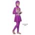 Jual Baju RenangAnak SD Perempuan Edora Muslimah ML TGG 034 Violet Terbaru