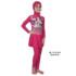 Jual Baju RenangAnak SD Perempuan Edora Muslimah ML TGG 035 Deep Pink Terbaru