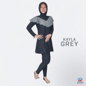 Baju Renang muslimah Edora Kayla Grey