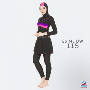 Baju Renang Muslimah Edora ES ML DW 115