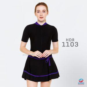 Baju Renang Wanita Edora Semi Cover HDR 1103