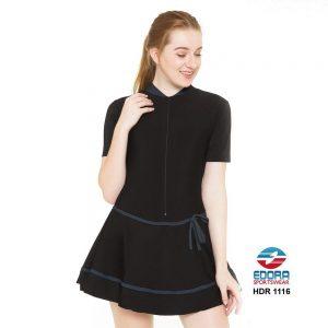 Baju Renang Wanita Edora Semi Cover HDR 1116