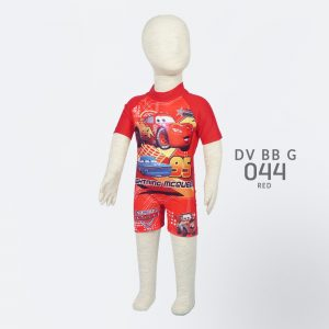 Baju Renang Bayi Deedo DV BB G 044 Car's Red