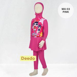 Baju Renang Anak TK Deedo MA 02 Little Pony