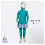 Toko Baju Renang Anak Muslimah ML AK M 102