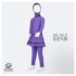 Jual Baju Renang Anak Muslimah ML AK P 024 B