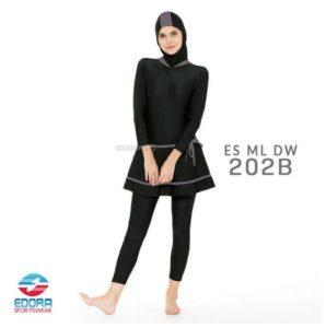 Jual Baju Renang Muslimah Murah ES ML DW 202 B