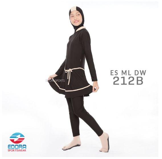 Toko Busana Renang Muslimah Modern ES ML DW 212 B