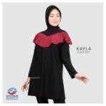 Grosir Baju Renang Terbaru Edora Kayla Black Red