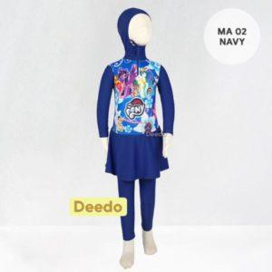 Toko Baju Renang Anak Modern MA 02 Navy Little Pony