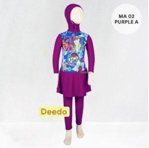 Toko Baju Renang Anak Modern MA 02 Purple A Little Pony
