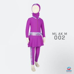 Jual Busana Renang Anak Muslimah ML AK M 002
