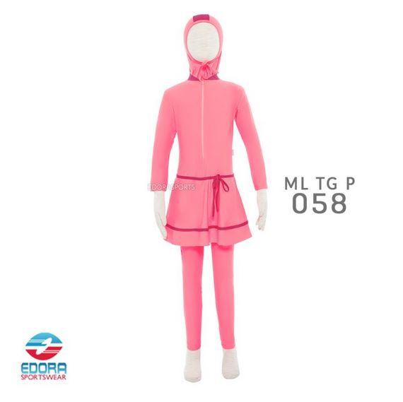 Grosir Baju Renang Muslimah Murah Edora ML TG P 058