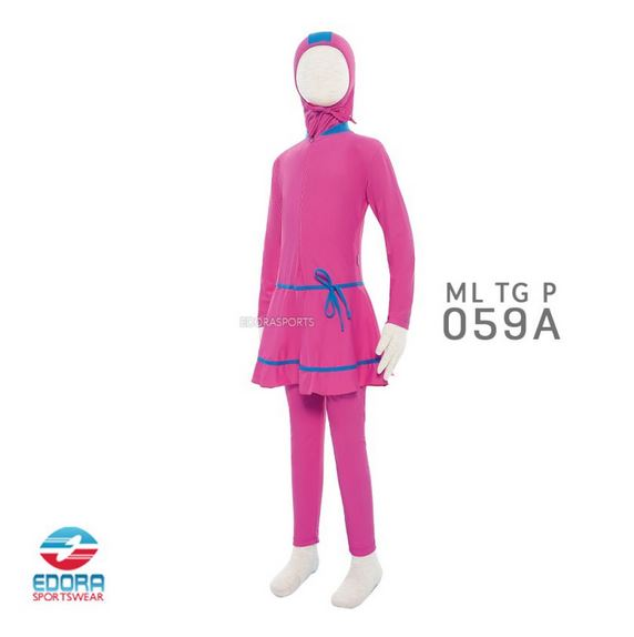 Toko Baju Renang Muslimah Modern Edora ML TG P 059 A