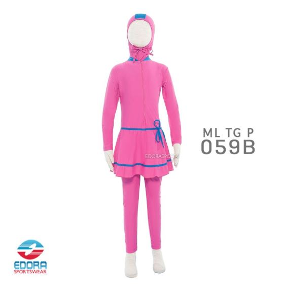 Toko Baju Renang Muslimah Modern Edora ML TG P 059 B