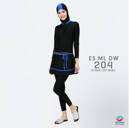 Toko Baju Renang Muslimah Modern ES ML DW 204