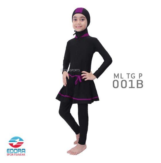 Toko Baju Renang Muslimah Modern Edora ML TG P 001 B