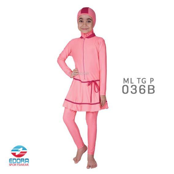Grosir Baju Renang Muslimah Terbaru Edora ML TG P 036 B