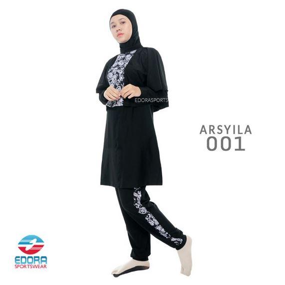 Grosir Busana Renang Muslimah Murah Edora Arsyila 001