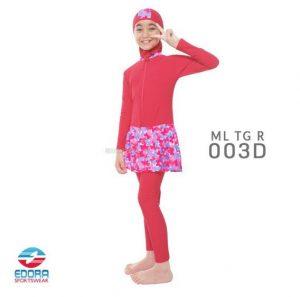Grosir Baju Renang Muslimah Modern Edora ML TG R 003D
