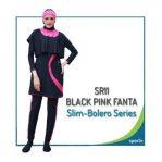 Grosir Baju Renang Muslimah Sporte Terbaru SR 11 Black Blue Bolero