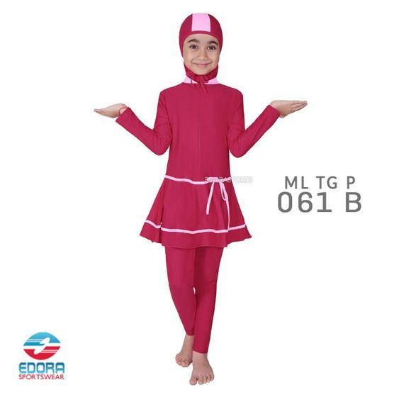 Grosir Baju Renang Muslimah Anak Murah Edora ML TG P 061 B
