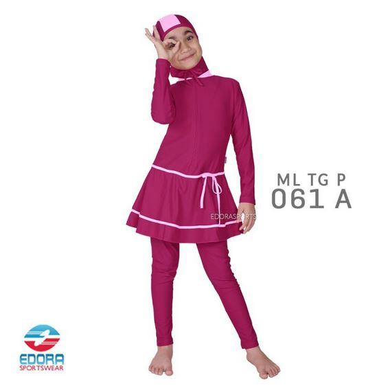 Toko Baju Renang Muslimah Anak Modern Edora ML TG P 061 A