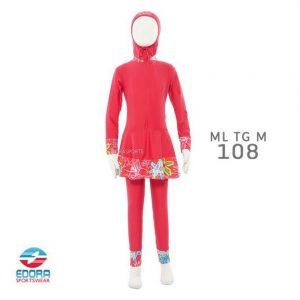 Toko Baju Renang Muslimah Anak Modern Edora ML TG M 108