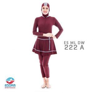 Jual Baju Renang Muslimah Modern Edora ES ML DW 222 A