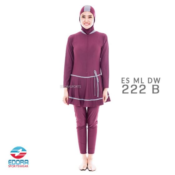 Jual Baju Renang Muslimah Murah Edora ES ML DW 222 B