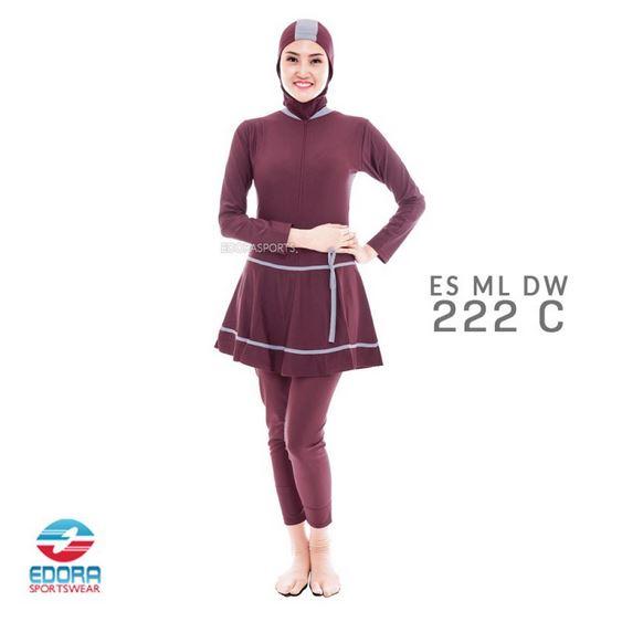 Jual Baju Renang Muslimah Edora Murah ES ML DW 222C