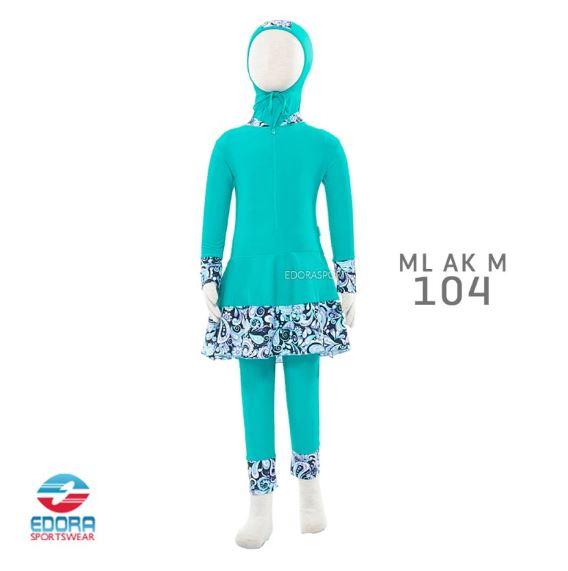 Jual Baju Renang Muslimah Modern TK Edora ML AK M 104